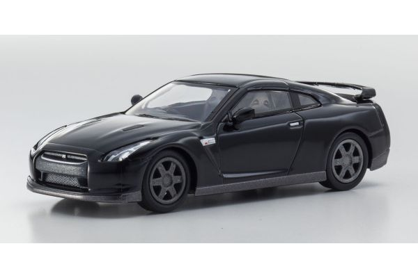KYOSHO 1/64scale NISSAN GT-R(R35) Black [No.KS07047A11]