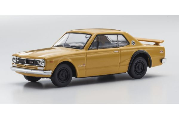 KYOSHO 1/64scale Nissan Skyline 2000 GT-R (KPGC10) Orange [No.KS07047A1]