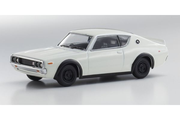 KYOSHO 1/64scale Nissan Skyline 2000 GT-R (KPGC110) White [No.KS07047A3]