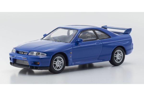 KYOSHO 1/64scale NISSAN SKYLINE GT-R(BCNR33) Blue [No.KS07047A6]