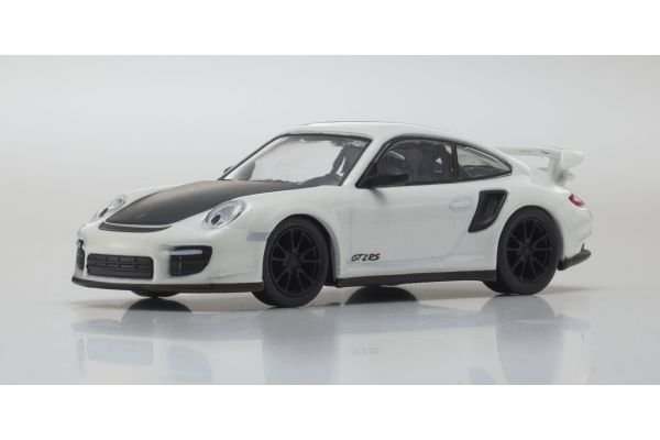KYOSHO 1/64scale Porsche 911 GT2 RS White [No.KS07048A12]