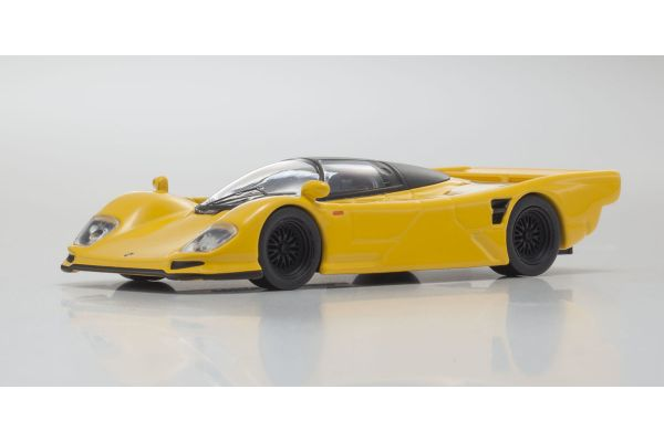 KYOSHO 1/64scale Porsche 962C Yellow [No.KS07048A5]