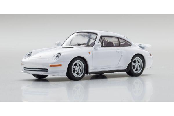 KYOSHO 1/64scale Porsche 911 RS 993 White [No.KS07048A8]