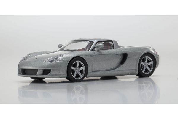 KYOSHO 1/64scale Porsche Carrera GT Silver [No.KS07048A9]