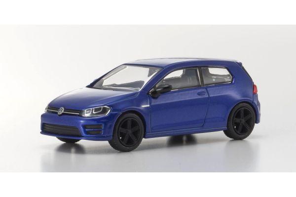 KYOSHO 1/64scale VW Golf R 2012 Blue Metallic [No.KS07050A14]