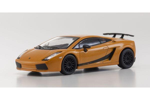 KYOSHO 1/64scale Lamborghini Gallardo Superleggera Orange [No.KS07051A1]