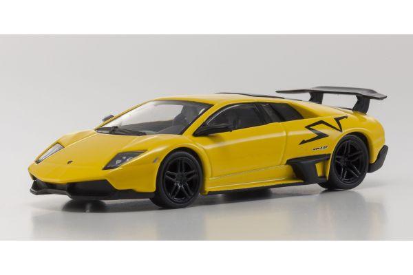 KYOSHO 1/64scale Lamborghini Murcielago SV Yellow [No.KS07051A2]