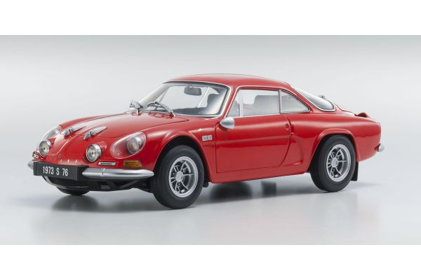 KYOSHO 1/18scale Alpine Renault A110 1600S Red [No.KS08484R]