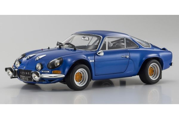 KYOSHO ORIGINAL 1/18scale Renault Alpine A110 1973 Blue Metallic  [No.KS08485BL]