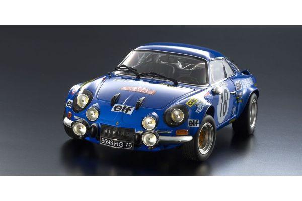 KYOSHO ORIGINAL 1/18scale Renault Alpine A110 1973 Monte Carlo #18  [No.KS08485E]