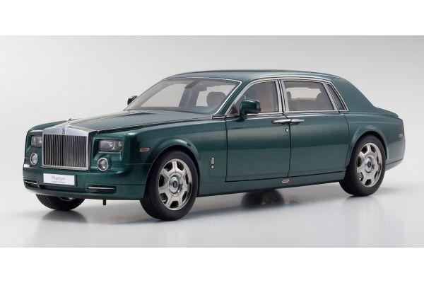 KYOSHO 1/18scale Rolls Royce Phantom Extended Wheel Base Brook lace Green  [No.KS08841BG]