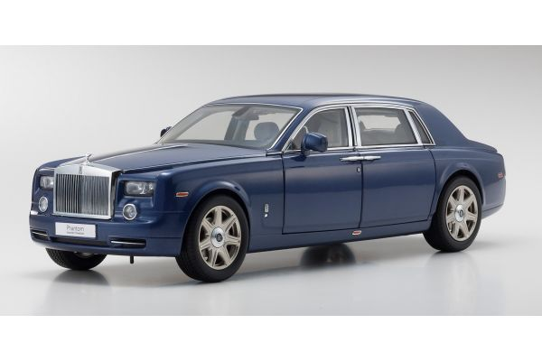 KYOSHO 1/18scale Rolls Royce Phantom Extended Wheel Base MetropolitanBlue  [No.KS08841MB]