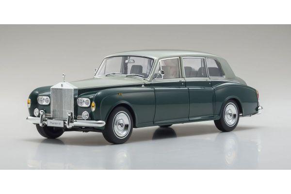 KYOSHO ORIGINAL 1/18scale Rolls Royce Phantom VI (Green / Silver)  [No.KS08905GRS]