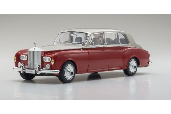 KYOSHO ORIGINAL 1/18scale Rolls Royce Phantom VI (Red / light beige)  [No.KS08905RLB]