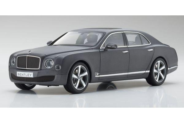 KYOSHO ORIGINAL 1/18scale Bentley Mulsanne Speed Dark Grey Satin  [No.KS08910DGS]