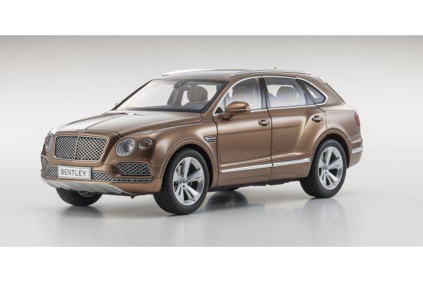 KYOSHO 1/18scale Bentley Bentayga Bronze [No.KS08921BZ]
