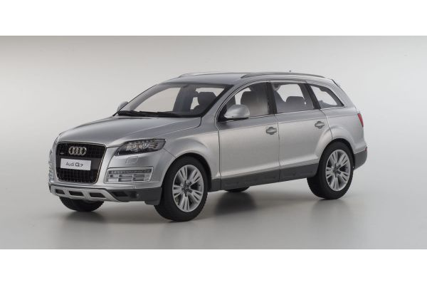 KYOSHO 1/18scale AUDI Q7 Facelift Ice Silver [No.KS09222IS]