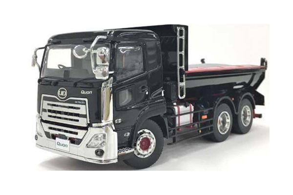 KYOSHO ORIGINAL 1/43scale UD TRUCKS QUON Dump Truck (Black Metallic)  [No.KS67373BK]