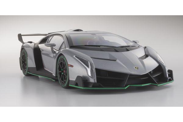 OUSIA 1/18scale Lamborghini Veneno Gray / Green Line [No.KSC09501GRG]