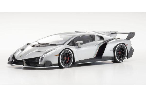 OUSIA 1/18scale Lamborghini Veneno Gray / White Line [No.KSC09501GRW]