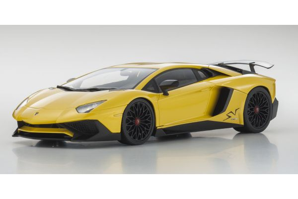 OUSIA 1/18scale Lamborghini Aventador SV Yellow Pearl  [No.KSC09521Y]