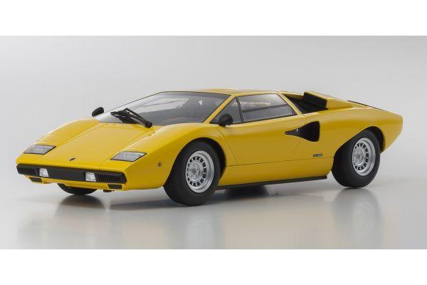 OUSIA 1/18scale Lamborghini Countach LP400 Yellow  [No.KSC09531Y]