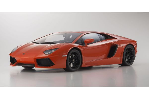 KYOSHO 1/12scale Lamborghini Aventador LP 700-4 Orange [No.KSR08661P]