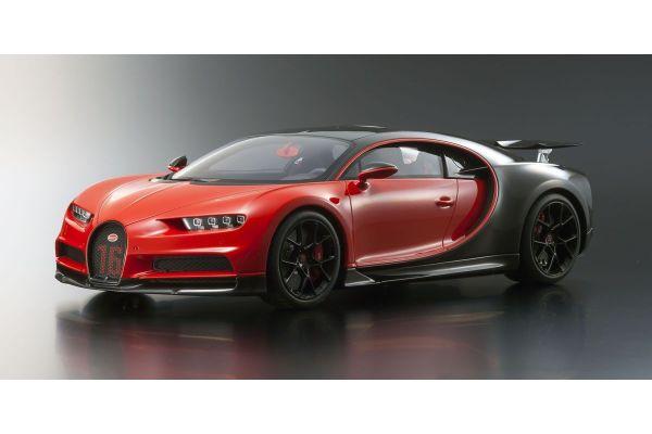 KYOSHO ORIGINAL 1/12scale Bugatti Chiron Sport (Red / Black)  [No.KSR08667R]
