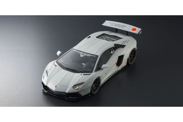 KYOSHO ORIGINAL 1/12scale LB★WORKS Aventador Matte Gray  [No.KSR12502MG]