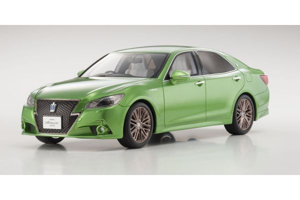 SAMURAI 1/18scale Toyota CROWN Hybrid Athlete S Wakakusa(Green)  [No.KSR18001GR]