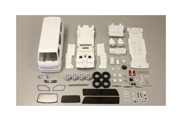 SAMURAI 1/18scale Toyota Hiace assembly kit limited 100 set  [No.KSR18003K]