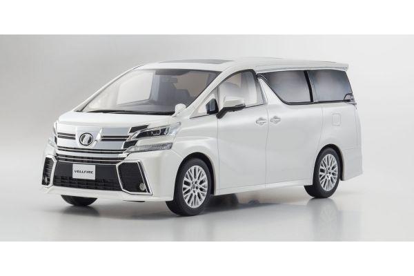 SAMURAI 1/18scale Toyota VELLFIRE 3.5 ZA G Edtition White [No.KSR18011W]