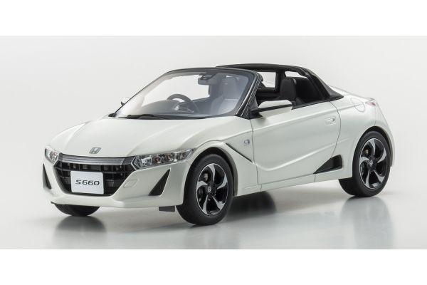 SAMURAI 1/18scale Honda S660 α White [No.KSR18016W]