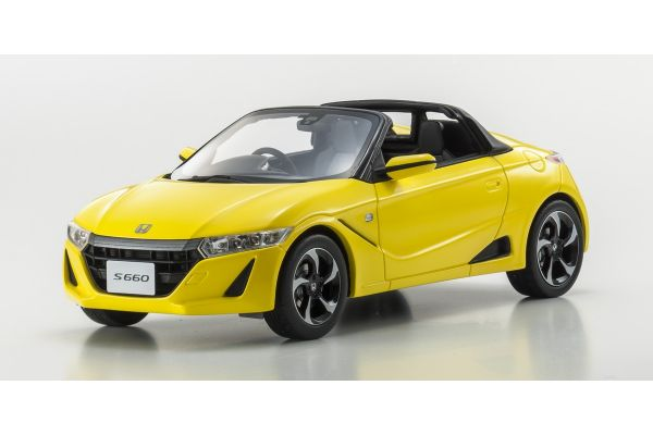 SAMURAI 1/18scale Honda S660 α Yellow [No.KSR18016Y]