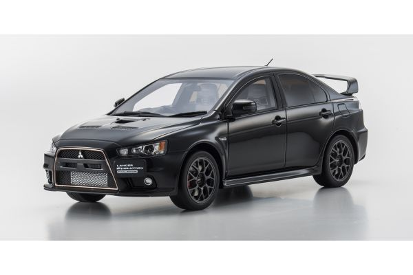 SAMURAI 1/18scale Mitsubishi Lancer Evolution Final Edition Black [No.KSR18019BK]