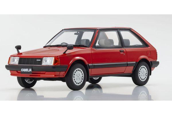 SAMURAI 1/18scale Mazda Familia (Red) Limited to 700  [No.KSR18049R]