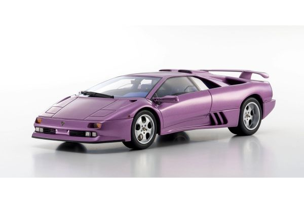 KYOSHO 1/18scale Lamborghini Diablo Jota SE30 Purple  [No.KSR18501V]