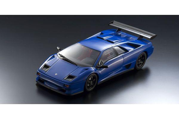 KYOSHO ORIGINAL 1/18scale Lamborghini Diablo SVR (blue)  [No.KSR18510BL]