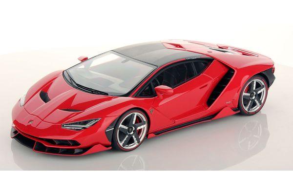 MR Collection 1/18scale Lamborghini Centenario Rosso Mars Red  [No.LAMBO023D]