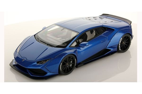 MR Collection 1/18scale Lamborghini Huracan Aftermarket Blu Monterey  [No.LAMBO024D]