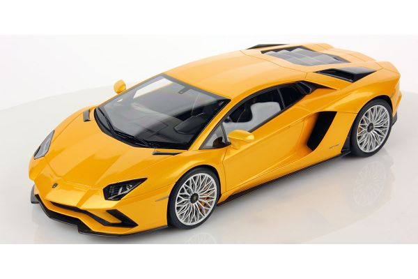 MR Collection 1/18scale Lamborghini Aventador S New Giallo Orion Yellow  [No.LAMBO027A]