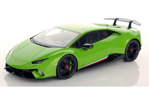 MR Collection 1/18scale Lamborghini Huracan Performante VERDE MANTIS Green  [No.LAMBO028B]