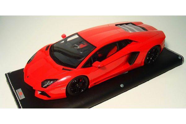 MR Collection 1/18scale Lamborghini Aventador LP700-4 METALLIC RED [No.LAMBO06G]
