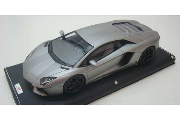 MR Collection 1/18scale Lamborghini Aventador LP700-4 (GRIGIO ANTARES MATT) MAT GREY [No.LAMBO06H]