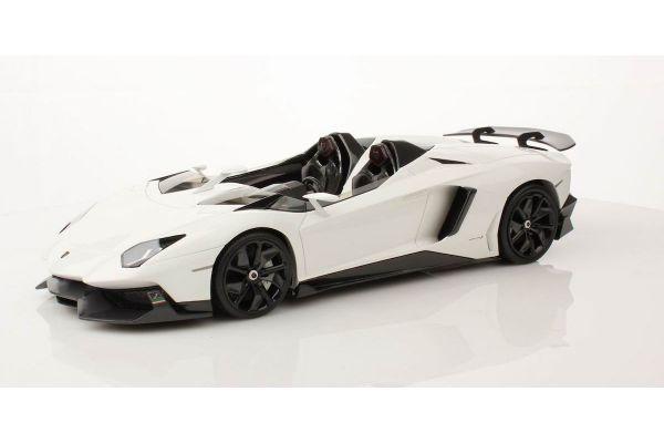 MR Collection 1/18scale Lamborghini  Aventador J (WHITE ISIS) White [No.LAMBO08C]