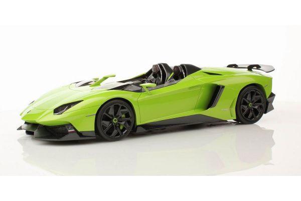 MR Collection 1/18scale Lamborghini  Aventador J (Verde ITHACA) Green [No.LAMBO08D]