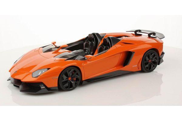 MR Collection 1/18scale Lamborghini  Aventador J (ORANGE ATLAS) Orange [No.LAMBO08E]