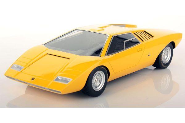 LOOKSMART 1/18scale Lamborghini Countach LP500 Prototype (Yellow)  [No.LSCOPT]
