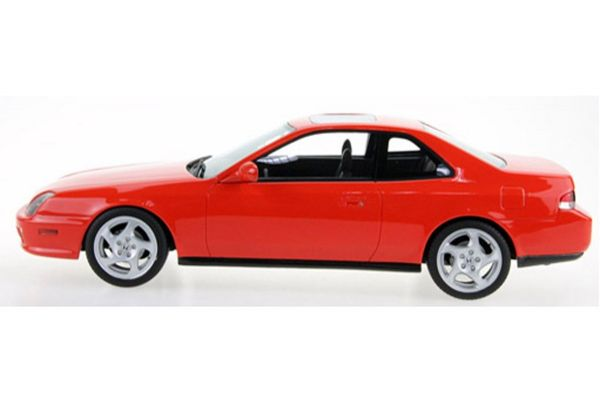 TOPMARQUES 1/18scale Honda Prelude 1997-2001 (Red)  [No.TOPLS038A]