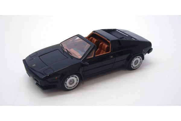 LOOKSMART 1/43scale Lamborghini Jalpa Solid Black [No.LS083C]